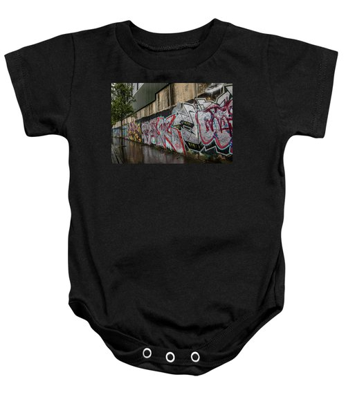 The Belfast Peace Wall Baby Onesie