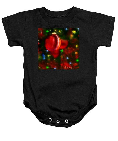 The Big Red Baby Onesie
