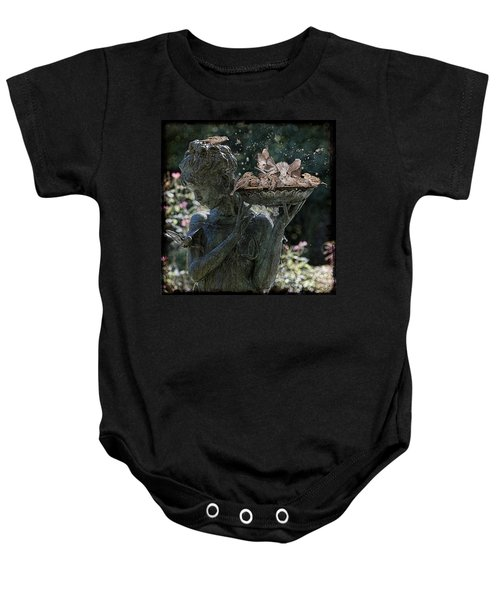 The Bird Bath Baby Onesie