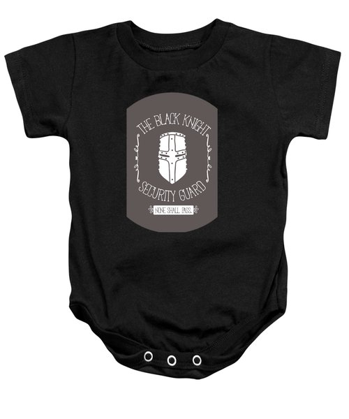 The Black Knight Baby Onesie by Christopher Meade