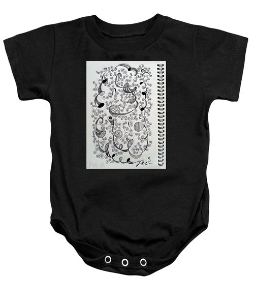 Chopin Nocturne No. 1 In B Flat Minor - Larghetto Baby Onesie