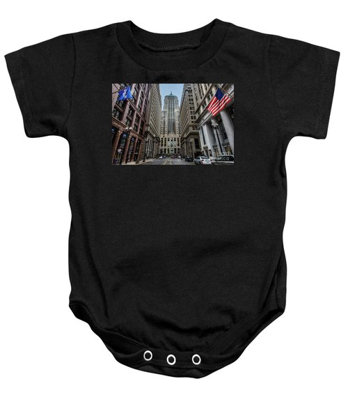 The Canyon In The Financial District Baby Onesie