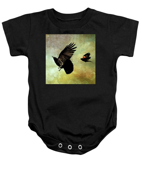 The Crow And The Blackbird Baby Onesie