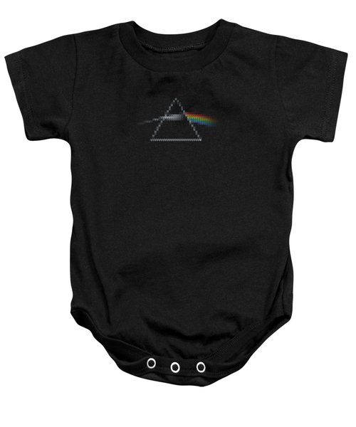The Dark Side Of The Ugly Christmas Sweater Cool Dark Side Of The Moon Music Parody Baby Onesie