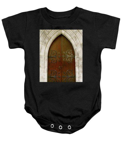 The Door Of Opportunity Baby Onesie