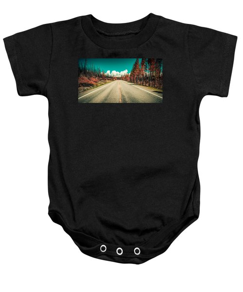 The Dried County Baby Onesie