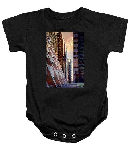 The Elevated Acre Baby Onesie