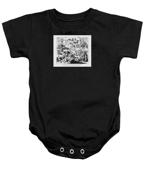 The End Of The Republican Party Baby Onesie by War Is Hell Store
