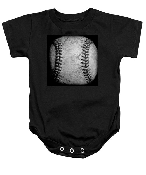 Baby Onesie featuring the photograph The Fastball by David Patterson