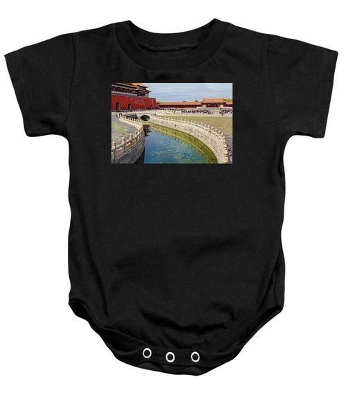 The Forbidden City Baby Onesie