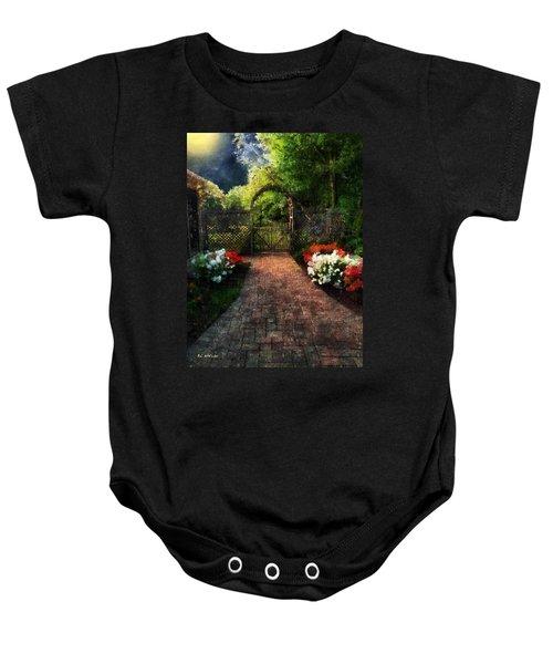 The Garden Path Baby Onesie