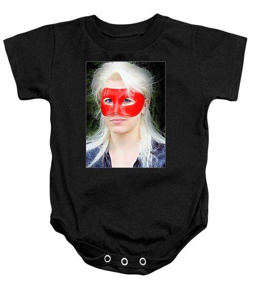 The Gaze Of A Heroine Baby Onesie