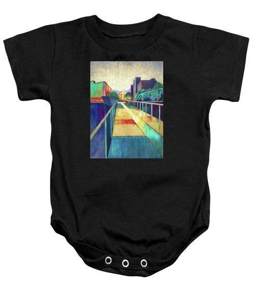 The Glass Bridge Baby Onesie