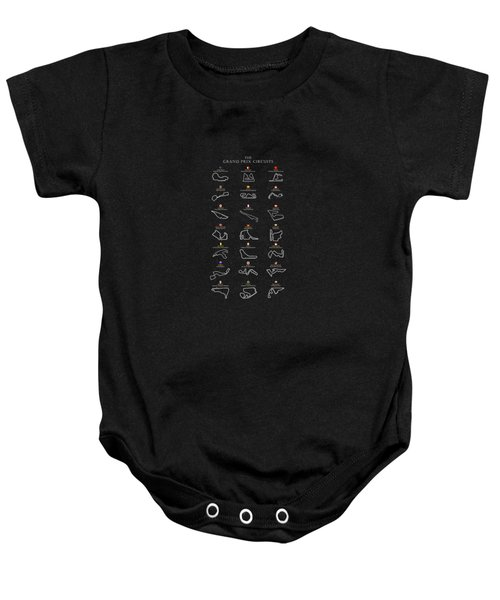 The Grand Prix Circuits Baby Onesie