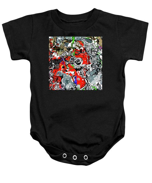 The Grapevine Wall Section 1 Baby Onesie