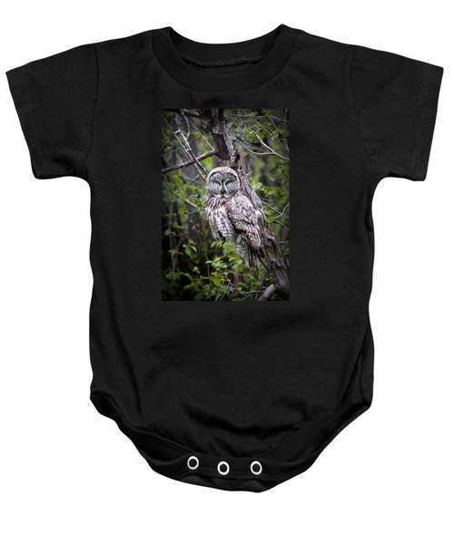 The Great Gray Baby Onesie