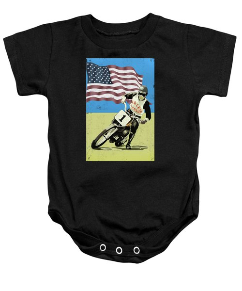 The Harley Competition Motorcycle Baby Onesie