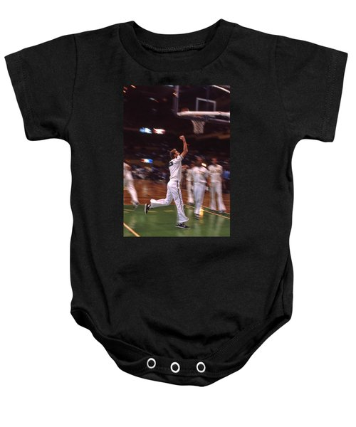 The Hick From French Lick Baby Onesie by Mike Martin