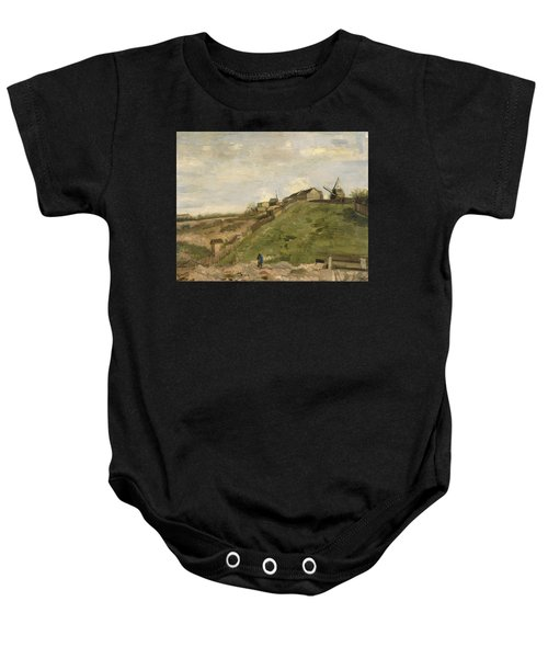 The Hill Of Montmartre With Stone Quarry Baby Onesie
