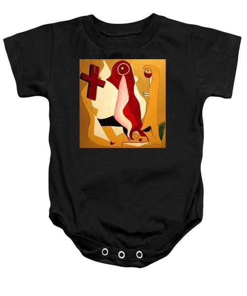 The Holy Trinity Baby Onesie