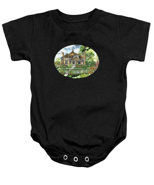 The House On Spring Lane Baby Onesie