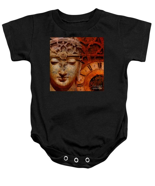 The Illusion Of Time Baby Onesie