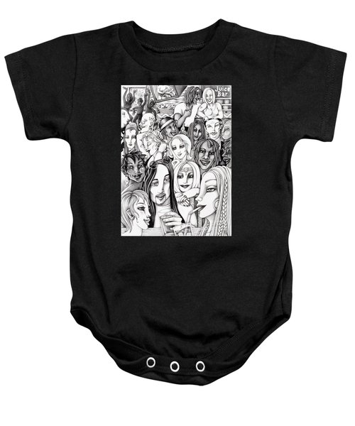 The In Crowd Baby Onesie