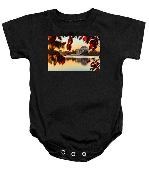Jefferson In Autumn Baby Onesie