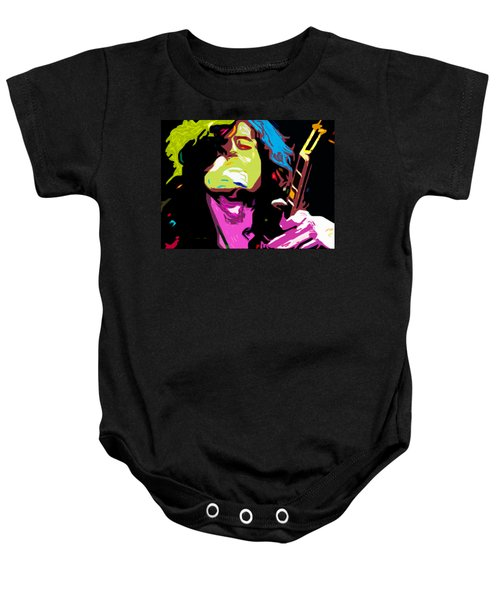 The Jimmy Page By Nixo Baby Onesie by Nicholas Nixo