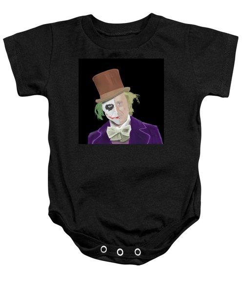 The Joker But A Little Bit 'wilder' Baby Onesie
