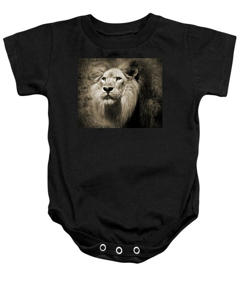 The King II Baby Onesie