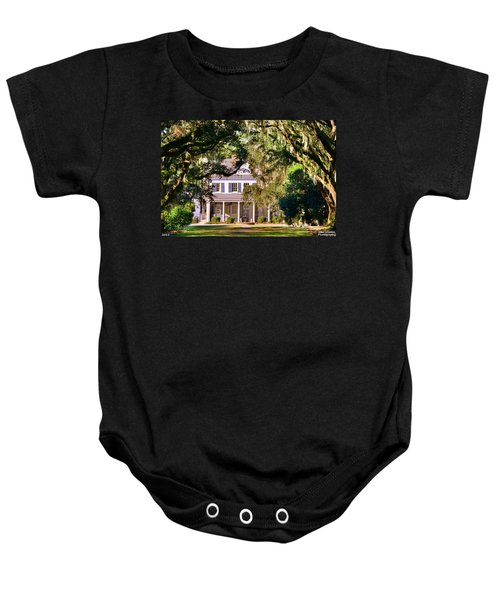 The Legare-waring House At Charles Town Landing Baby Onesie