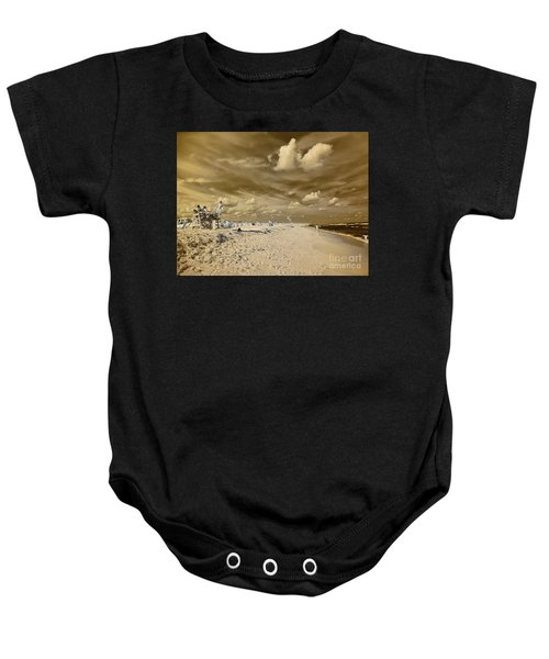 The Lifeguard Stand Baby Onesie