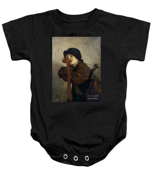 The Little Violinist Sleeping Baby Onesie
