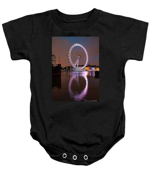 The London Eye Baby Onesie by Nichola Denny