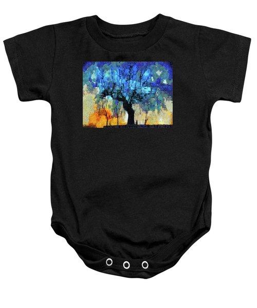 The Magic Blue Faraway Tree Baby Onesie