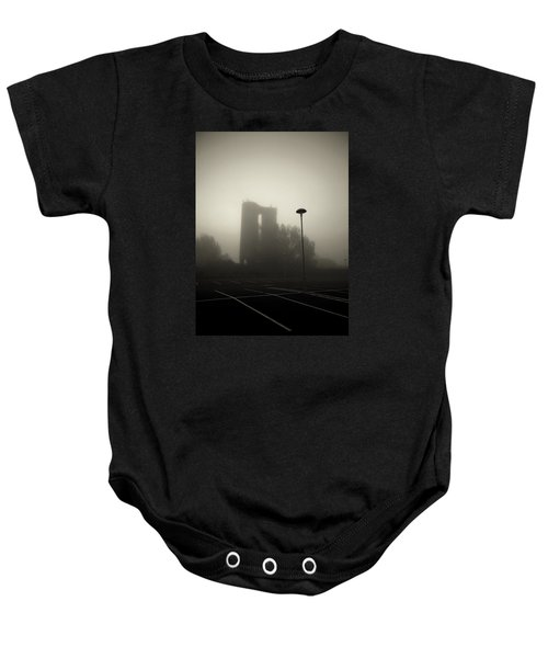 Baby Onesie featuring the photograph The Mist by Pedro Fernandez