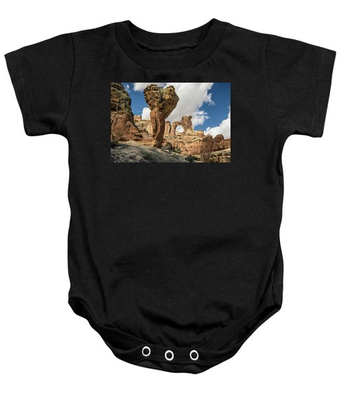 The Molar And Angel Arch 2 Baby Onesie