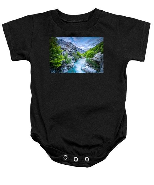The Mountain Spring Baby Onesie