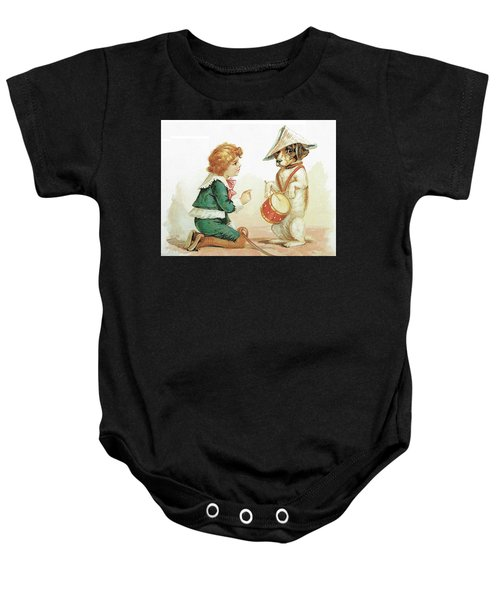 The Musical Pooch Baby Onesie