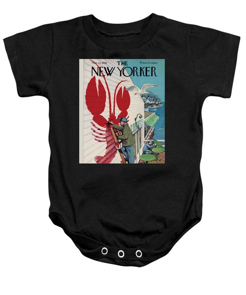 The New Yorker Cover - March 22nd, 1958 Baby Onesie