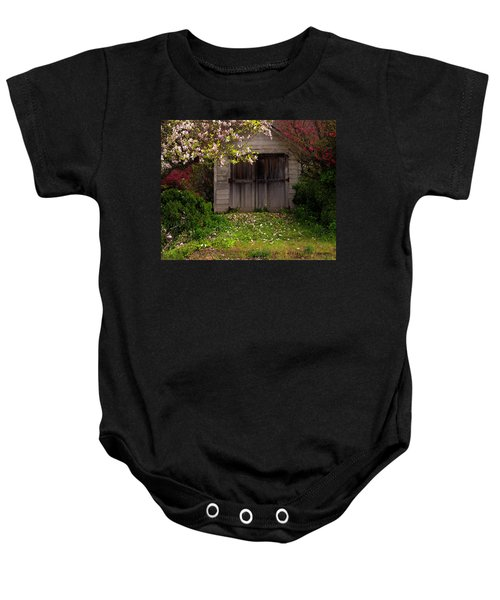 The Old Barn Baby Onesie
