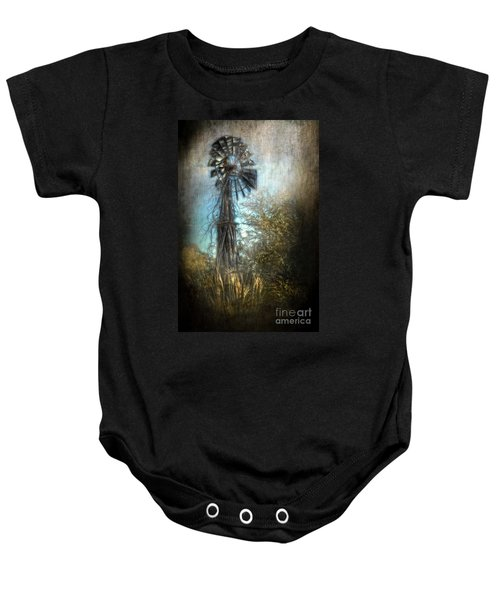 The Old Windmill Baby Onesie