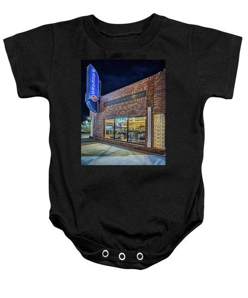 The Orphan Motor Company Baby Onesie