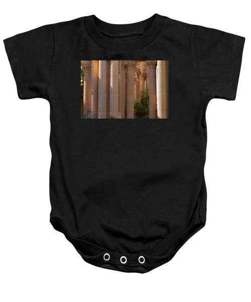 The Palace Columns Baby Onesie