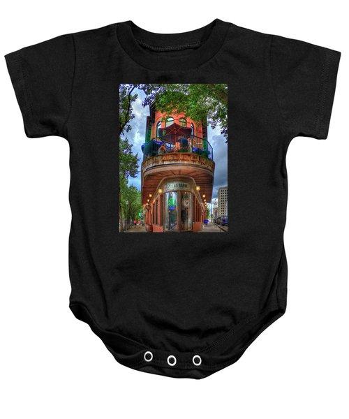 The Pickle Barrel Chattanooga Tn Art Baby Onesie