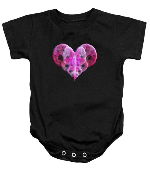 The Pink Heart Baby Onesie