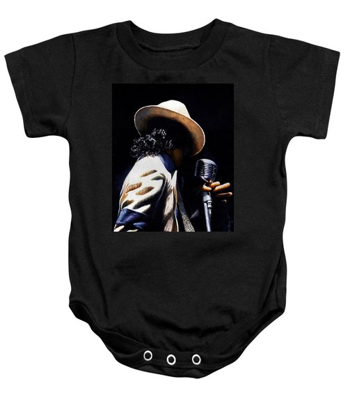 The Pop King Baby Onesie by Emerico Imre Toth