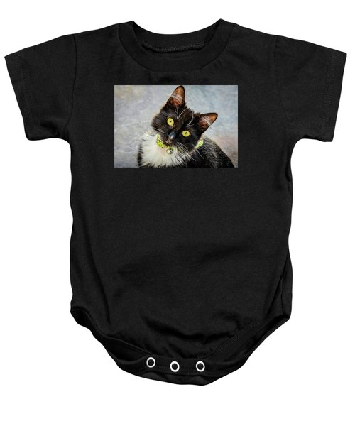 The Portrait Of A Cat Baby Onesie