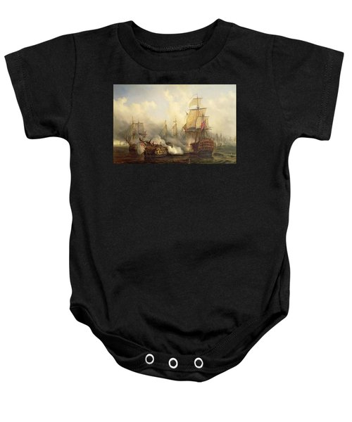 Unknown Title Sea Battle Baby Onesie